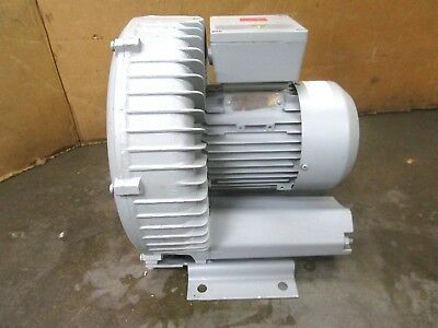 Siemens G 2Bh1 500-1Ah19-Z 1.3Kw 1.74Hp Regenerative Blower 204-240/408-480V 3Ph