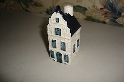 2007 Blue Delft's For KLM By Bols Miniature House #21-Empty