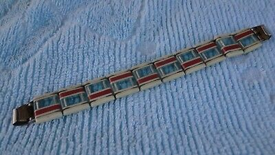 Antique Soviet Russian USSR Handmade Watch Band