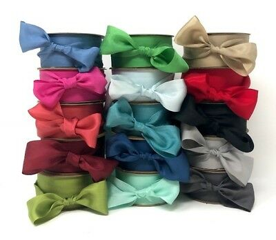 Bertie's Bows 100% Pure Silk 32mm Ribbon - sold by the metre or by the 30m Roll