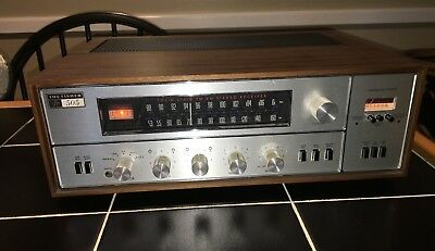 The Fisher 505-T AM-FM Stereo Receiver Excellent Vintage Audio Tuner Amp