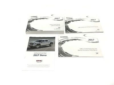 Other car manuals car truck manuals manuals literature parts 2017 gmc sierra denali owners manual booklet new oem fandeluxe Gallery