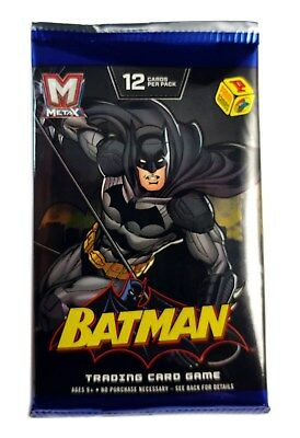 Panini MetaX  TCG Batman Single booster Pack, New and Sealed