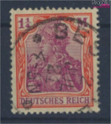 German Empire 151Y proofed used 1920 Germania (8162439
