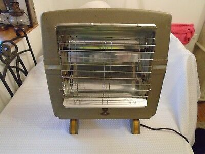 Vintage Belling Countess 1950 Electric Two Bar Fire