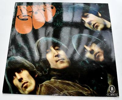 The Beatles Rubber Soul 1965 Orion C06204115 Germ Import 1969 Reissue Strong VG+