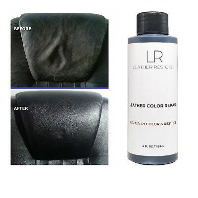 LEATHER COLOR REPAIR 4 Oz Recolor Restore Couch Furniture ...