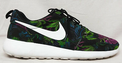1d7a11fc4af2 Nike Size 13 US Men s Roshe Run Print Smoky Lotus Running Athletic Shoes