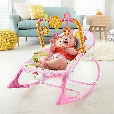 Fisher Price Infant to Toddler Bunny Rocking chair Bouncer