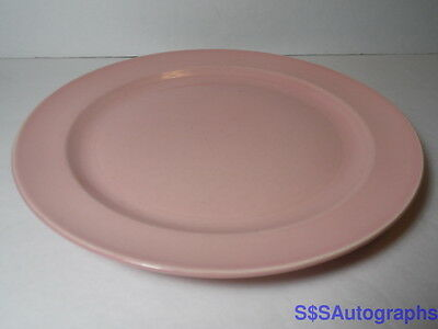 """1938 Vtg Ts&T Taylor Smith & Taylor Luray Pastels Sharon Pink 9"""" Luncheon Plate"""