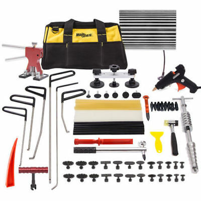 Paintless Hail Removal PDR Tools Dent Puller Lifter Line Board Auto Body Kit Rod