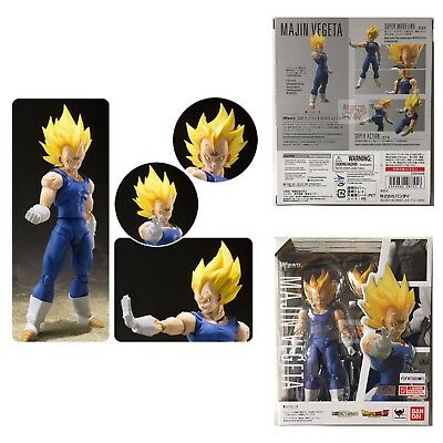 "MAJIN VEGETA Dragon Ball Z SHFiguarts BANDAI TAMASHII NATIONS 2018 7"" FIGURE"