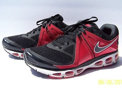 fd0256f98907 Nike Tailwind 4 453976-006 Mens 13 Red Black Airmax VGUC Athletic Running  Shoes