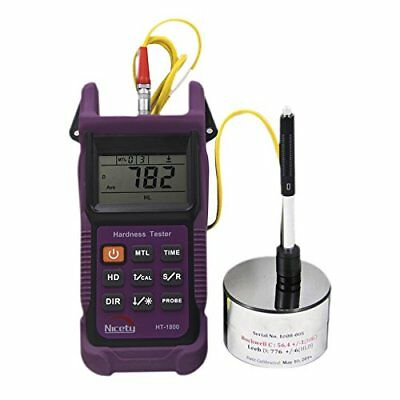 H● HT1800 Portable Rebound Leeb Hardness Tester Meter Durometer for Metal Steel