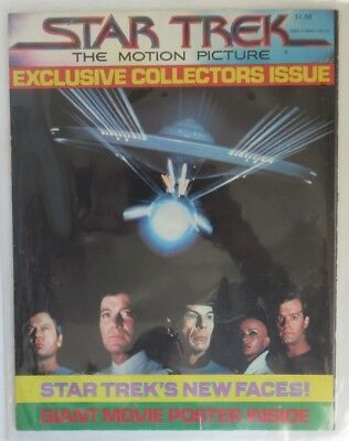 1979 Star Trek Motion Picture Collector's Issue Poster                (Inv18356)