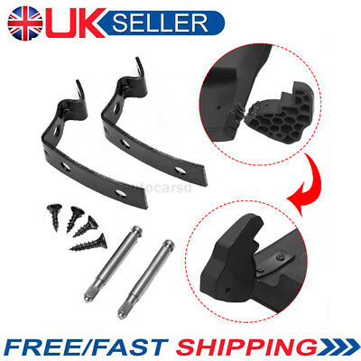 For Audi A4 B6 & B7 Glove Box Lid Hinge Repair Kit Brackets Screws Axis UK