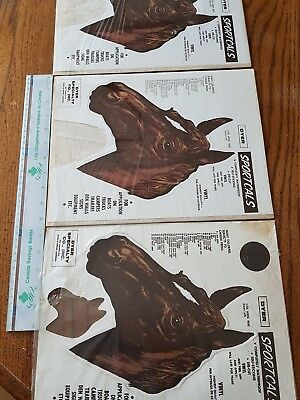 3 NOS Vintage Dyer Sportcal T27L Horse Head Vinyl Decals Truck Trailer Rat Rod A