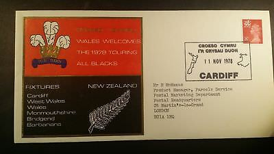 1978 Rugby ALL BLACKS Cardiff WALES v NEW ZEALAND FDC