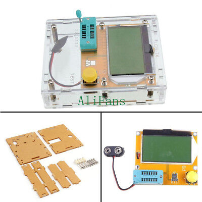 LCR-T4 Transistor Tester /Transistor Tester+Clear Acrylic Case Shell Housing