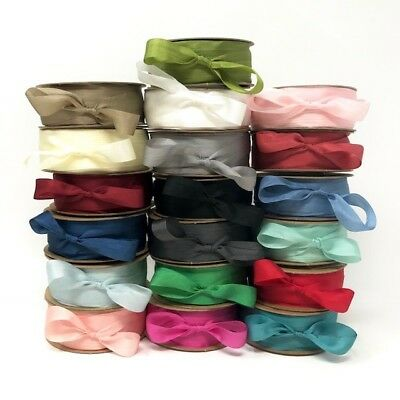 Bertie's Bows 100% Pure Silk 13mm Ribbon - sold by the metre or by the 50m Roll