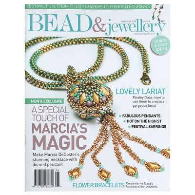 Bead & Jewellery Magazine | June/July 2018 (Issue 87) (D24/11)