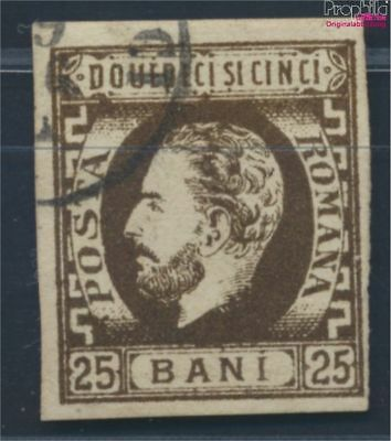 Romania 28 fine used / cancelled 1871 clear brands - Prince Karl I. (8688220