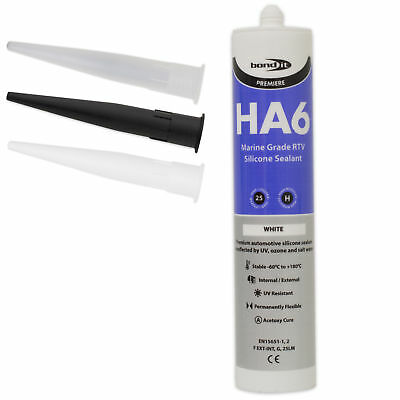 HA6 Silicone Sealant RTV Marine Aquarium Safe Fish Tank Salt Water Seal