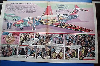 Handley Page  113 Jetliner   Stunning Cutaway Drawing  4/3/1961 Eagle