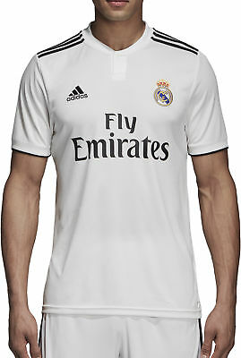 adidas Real Madrid Home 2018/19 Mens Football Shirt