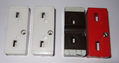 4 Fuse Shields for Old Wylex Fuse Boards, Not Rewireable or Push Button MCB Size