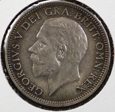 d153b42f Great Britain Uk 1936 Last Year King George V Shilling Toned Bu Coin Km 833