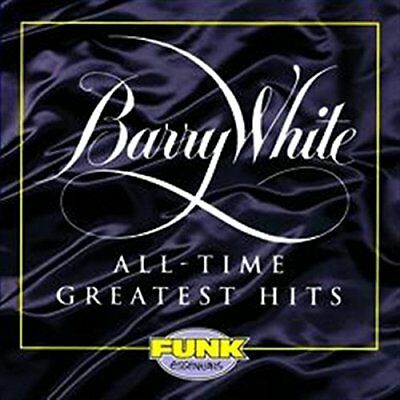 Barry White / All-Time Greatest Hits (Best of) *NEW CD*