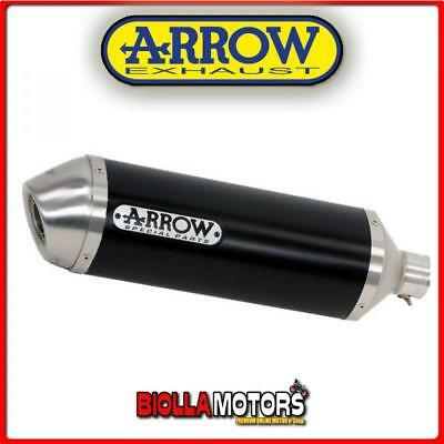 71804Aon+71480Mi+71481Mi Terminale Arrow Race-Tech Honda Cb 500 F 2013-2015 Dark