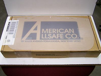 36 American Allsafe 8X15.5X.040 Clear Polycarbonate Replacement Face Shield Lens