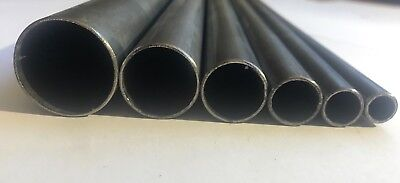 ERW  Steel Round Hollow Tube Pipe  10 sizes & 10 Lengths available