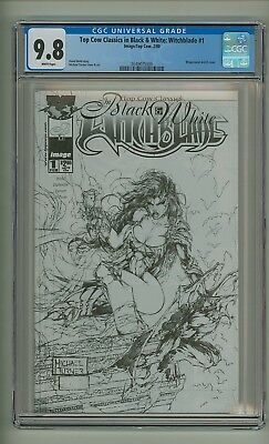 Top Cow Classics in Black & White: Witchblade #1 (CGC 9.8) White pages (c#19671)