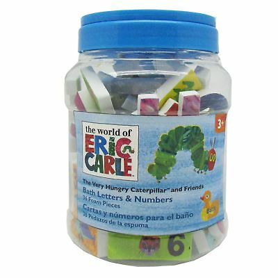 The World of Eric Carle Very Hungry Caterpillar Bath Letters & Numbers Set 96326