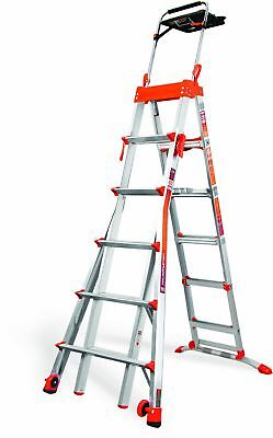 Little Giant Ladder Systems 15109-001 300-Pound Duty Rating Select Step 6-Feet