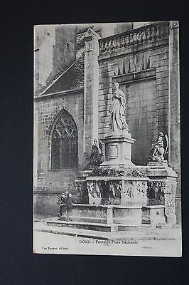 Postcard Antique CPA DOLE - Fountain Place National