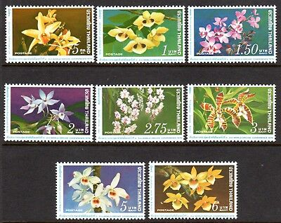 1978 THAILAND 9th WORLD ORCHID CONFERENCE BANGKOK SG945-952 mint unhinged