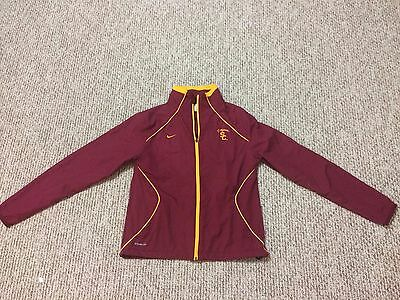 NIKE Fit Storm USC Trojan Light JACKET + 2 SHIRTS + SWEATSHIRT all size M 8-10