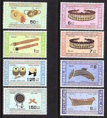 1982 THAILAND MUSICAL INSTRUMENTS SG1117-1124 mint unhinged