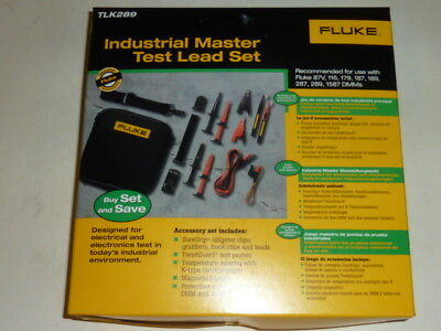 NEW Fluke (TLK289) Industrial Master Test Lead Set - Brand new in box
