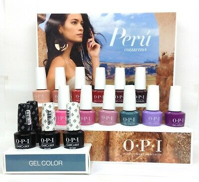 Gelcolor Soak-off Nail Polish - PERU Collection - Pick Any Color 0.5oz