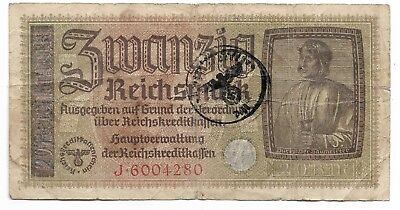 Rare Old WWII Vintage Germany WW2 Great Note Dollar Collection War LOT:US-R28