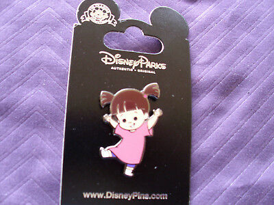 Disney * BOO - MONSTERS INC * New on Card Little Girl Character Trading Pin