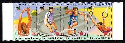 1994 THAILAND 18th SOUTH-EAST ASIAN GAMES strip SG1759a mint unhinged