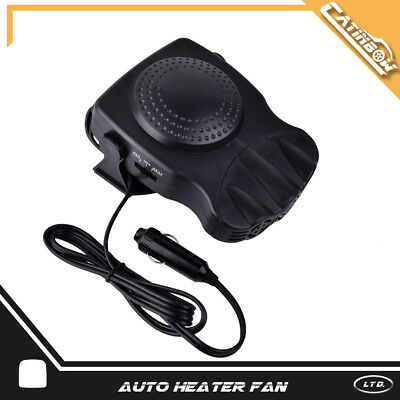 12V 150W Portable Car Heating Cooling Fan Heater Window Demister Defroster 2in1