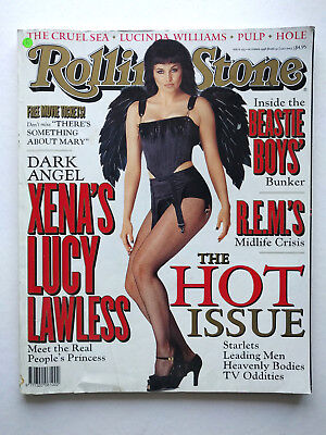 Rolling Stone Magazine #553 Oct98 Lucy Lawless, The Hot Issue