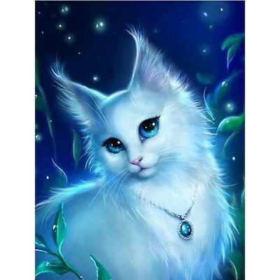 Cat 5D DIY Full Drill Diamond Mosaic Painting Popular Cross Stitch Wall Decor